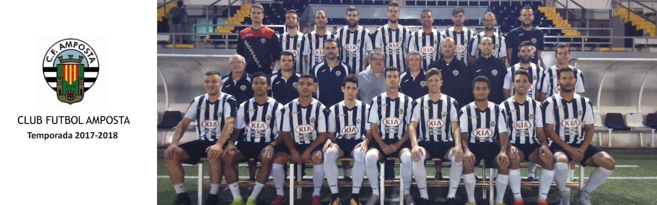 Club Futbol Amposta. Plantilla temporada 2017/2018