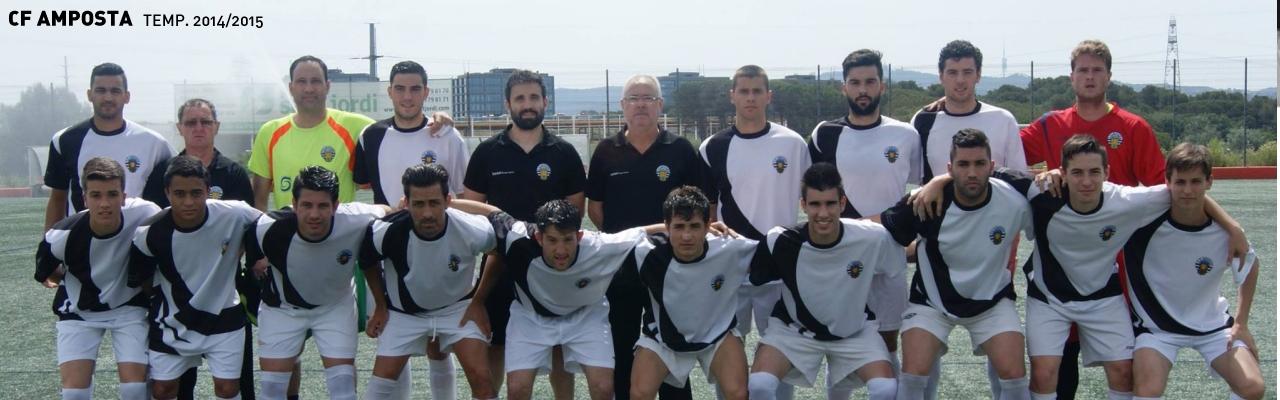 Plantilla 1er equip. Temporada 2014/2015