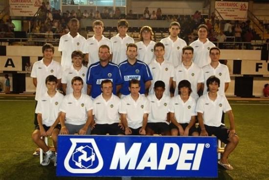 Club Futbol Amposta : TEMPORADES 1ER EQUIP : Relació de jugadors i altres membres del C.F Amposta.
