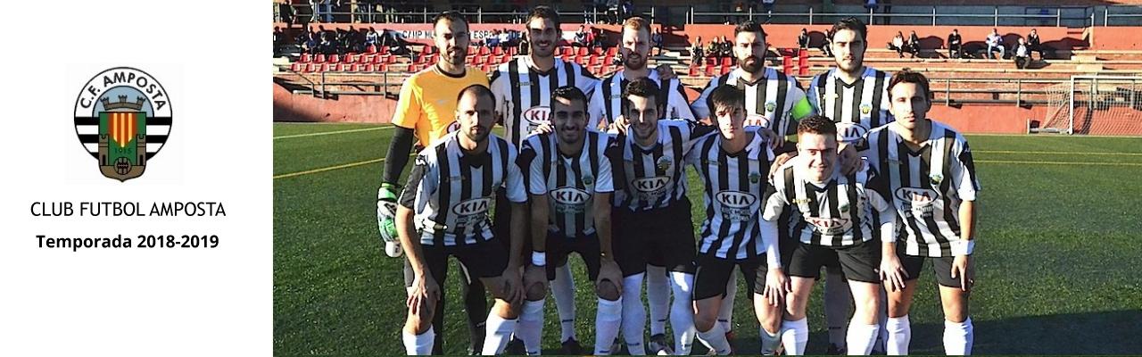 Plantilla Club Futbol Amposta, temporada 2018/19