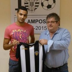 Moha El Hadri nou jugador del CF AMPOSTA