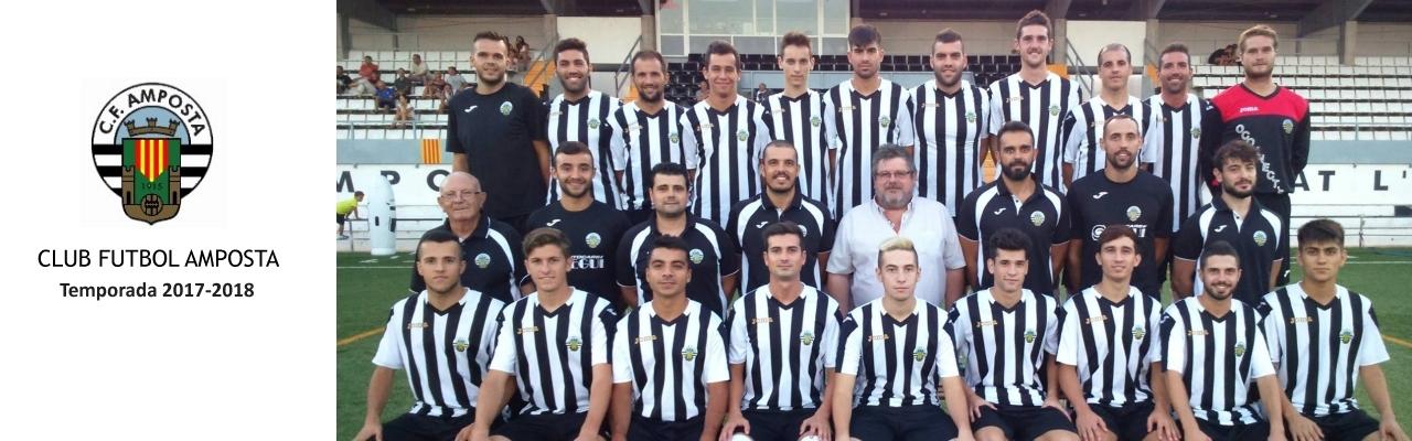 Plantilla Club Futbol Amposta temporada 2016/2017