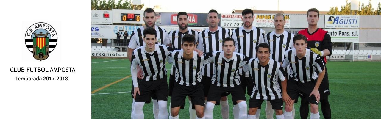 Club Futbol Amposta. Plantilla temporada 2016/2017